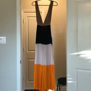 Grecian style Color Block Dress